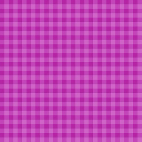 bright orchid gingham