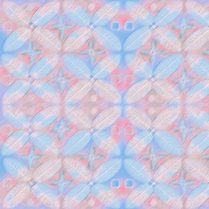 Pink and Blue Geometric