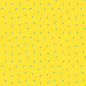 Donut Sprinkles - Banana Yellow