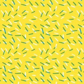 Cake Sprinkles - Banana Yellow