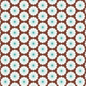 Flower Puffs Brown