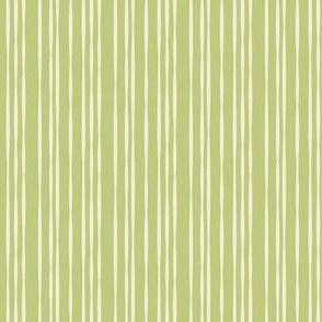Streamer Stripe in Celery Green