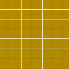 Grid - mustard yellow