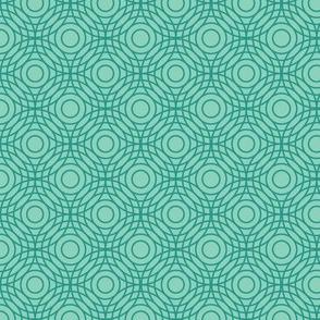 Optical Circles in Aqua