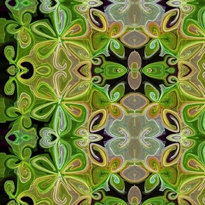 Dark Green Lotus