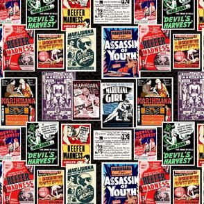 Marijuana Madness 1930s 12x12