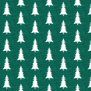 forest linen trees