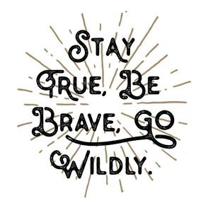 Go Wildly Lovey // Tan