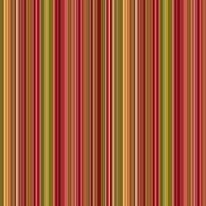 stripes (autumn red)