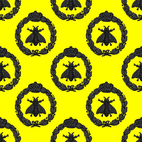 Napoleonic Bees ~ Queen Bee ~ Jet on La!