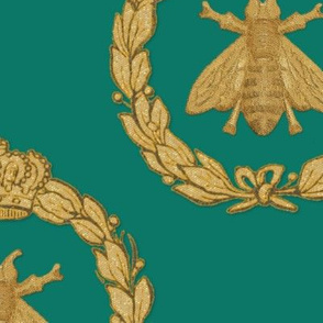 Napoleonic Bees ~ Queen Bee ~ Faux Gilt on Napoleon