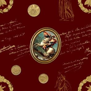 Napoleon ~ Faux  Gilt on Hampton Court