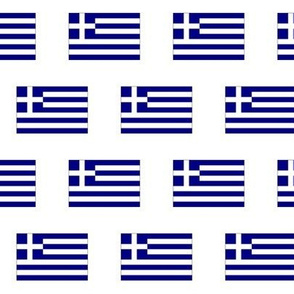 Greek Flag // Small