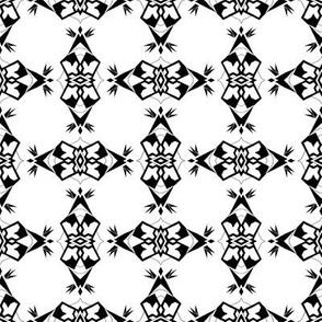 Black and White PACLA Weave