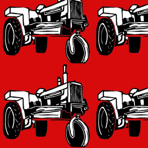 Tractor_red