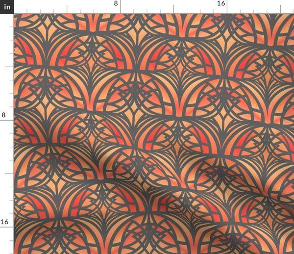 5552849 orange art deco small by artlovepassion