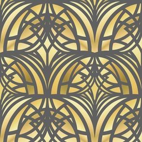 Yellow Art Deco
