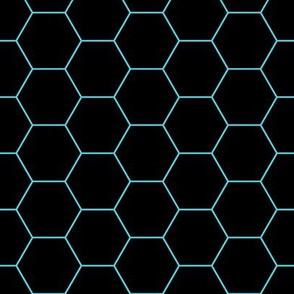 Hexagons Neon