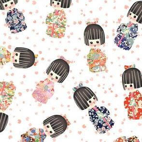 Kokeshi_Dolls