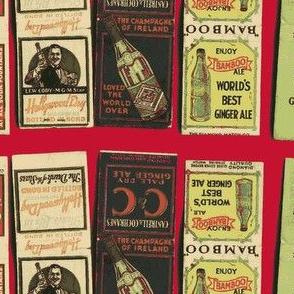 Prohibition Era Matchbooks