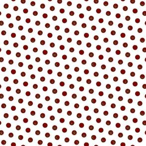 tomato polka dots