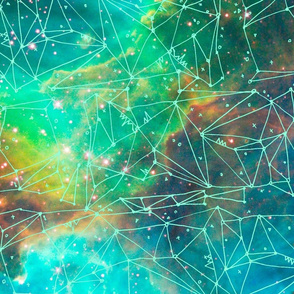 Nebula Sketch - mint