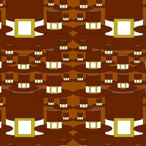 Pilgrims and Thanksgiving Pilgrim Hats Fabric G