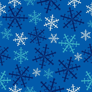 Snow is Coming - Sword Snowflakes