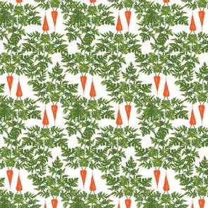 16-13V Easter Carrots Vegetable Food Green Leaf Leaves Rabbit_Miss Chiff Designs