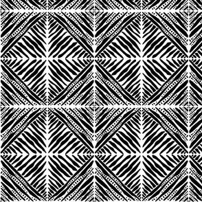 Reflecting Diamond Pattern
