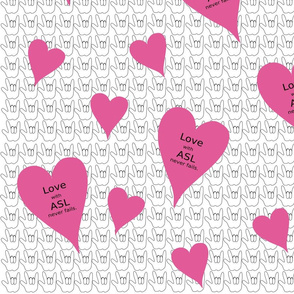 LoveASLFabric