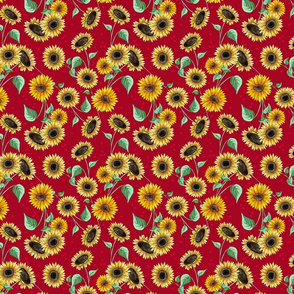 sunflower_repeat_red