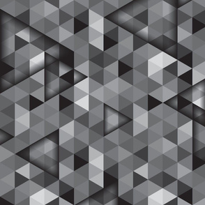 Hipster triangles-greys
