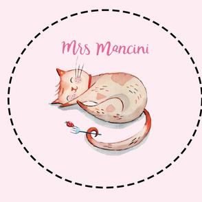 Mrs Mancini Cushion Blank (Mancini Pink)
