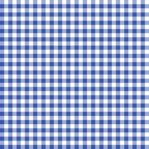 Mini Gingham Blueberry
