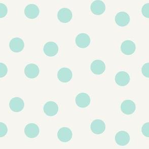 Mint Scatter Dots