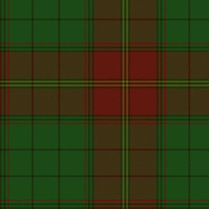 """Ulster district tartan, red - muted, 6"""""""