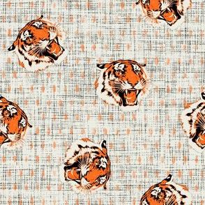 Tiger tiger on dots
