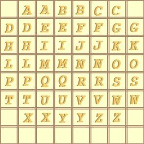 AlphabetGoldenShadowed