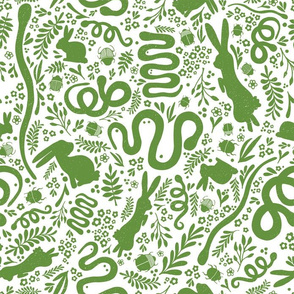 Snakes, Rabbits, and Beetles GREEN