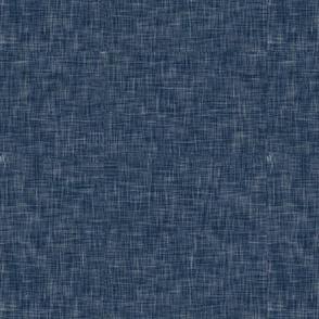 navy linen solid