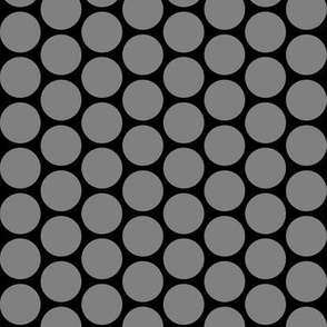 Circles on grey