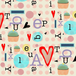 Typography Fabric
