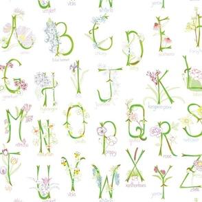 Botanical Alphabet