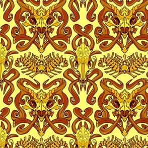 Monster Damask (gold)