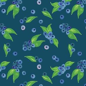 Blueberries Blue