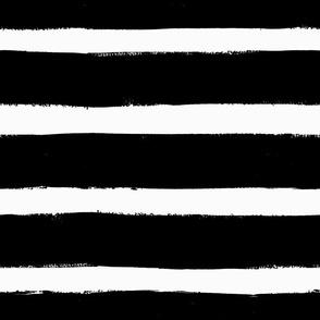 Black Paint Stripes by Friztin