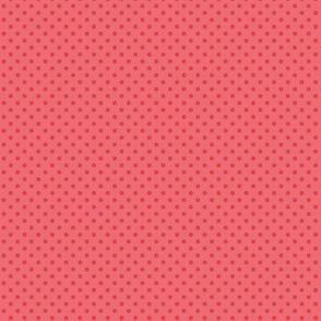 Red polka dots for cute molar teeth