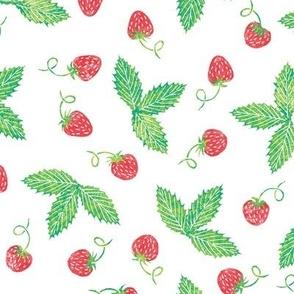 bright strawberries
