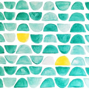 Gum Drops Watercolor